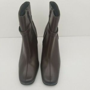 Nine & Co. Shoes - Nine & Company Size 9.5 M NCPHILLIPE Leather Ankle